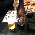 81871086 - 中瓶ビール550円