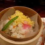わしょくてい秀瑠 - 蒸し散らし寿司