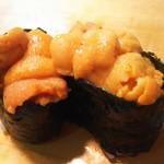 かわなみ鮨 - 雲丹