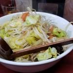 玉蘭 - タンメン 650円。野菜たっぷり、ボリューム満点❗