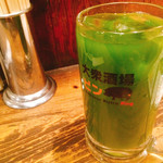大衆酒場 PING - 抹茶ハイ 290円