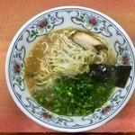 たるや食堂 - 料理写真:セットの中華そば〜♪( ´▽`)