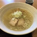 会津喜多方製麺所 - 塩ラーメン