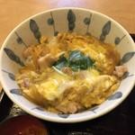 会津喜多方製麺所 - ミニ親子丼