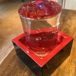 やきとん くう - 日本酒「菊正宗」本醸造。530円也。