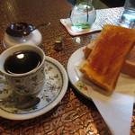 純喫茶バンビ - 料理写真:珈琲とトースト