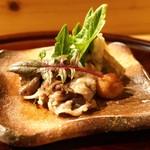 むろい - 料理写真:☆焼物 猪肉
