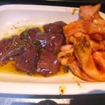 神保町食肉センター 赤羽店 - レバーとビートロ