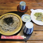 ドームハウスサトー - そば と 天ぷら¥1000