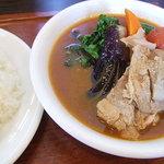 木多郎 - チキン野菜カレー