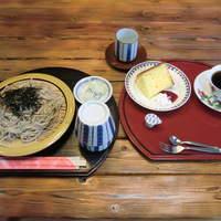 ドームハウスサトー - そば コーヒー シフォンケーキ