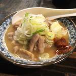 祖師谷大蔵の串屋横丁 - 煮込み330円