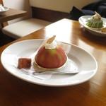 パティスリー クグラパン - 料理写真:いちじくマスカルポーネ