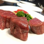 プレミアム 听 - 熟成肉フィレ80g 2018/03/03