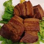 ラーメン哲史 - 豚の角煮
