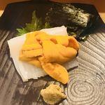 だるま寿司 - イカさんウニのせ!
