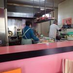 十八番食堂 - 調理場
