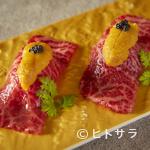 焼肉 うしみつ - 赤身和牛炙り肉寿司