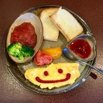 ジャム cafe 可鈴 - ミニプレート(750円)※スープも付いてます