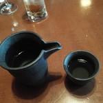 神楽坂 和らく - 日本酒(金澤屋純米酒)