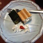 神楽坂 和らく - 一口ケーキ