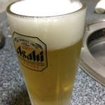 あさけ焼肉店 - ドリンク写真: