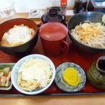そば処 一源 - 料理写真:ご奉仕セット 690円