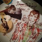 パスタアンドワイン カカポ - 誕生日プレート