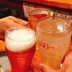 一品料理 ひとしな - 生ビール&レモンサワー&烏龍茶で乾杯♪