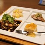 MASA'S KITCHEN - ☆前菜4種
