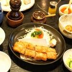 とんかつあさくら - ■ヒレとんかつ定食 2000円
