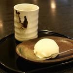 とんかつあさくら - ■柚子シャーベット