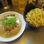 めん屋 桔梗 - 塩つけ麺特盛り@850円