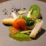sincere - アスパラガスを菜の花や柑橘の香りで春の装いに