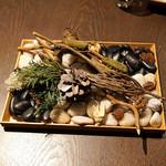 sincere - お茶菓子三種