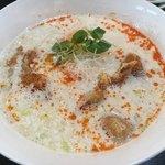 魏飯夷堂 - パイコー豆乳クリーム担々麺