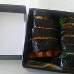 石松 阪奈店 - テイクアウトの鰻の棒寿司 丸々一匹うなぎ
