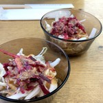 傍 - 前菜サラダ