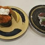 はま寿司 - カキフライ軍艦 150円、漬ほたるいか 100円 (税別)♪