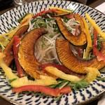 ○いけ   - 大根とかぼちゃのサラダ