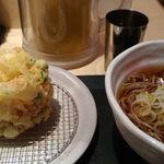 国産二八蕎麦 蕎香 - かき揚げ蕎麦