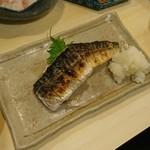 松亭 - サバの塩焼き