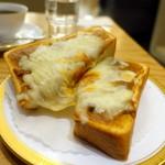 丸福珈琲店 - 丸福カリートーストモーニングセット650円