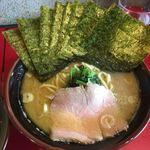 麺童虎徹 - 豚骨醤油らーめん並+バリバリ 海苔