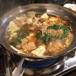 81895006 - もつ鍋 醤油味
