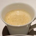 レフェルヴェソンス - 菊芋の温かいスープ