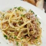 レスタミネ リュンヌ - 豚肉とキャベツのラグーソーススパゲッティ(1000円)