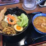 麺屋 しゃがら - エビつけ麺¥760