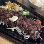 ビフテキ屋 まるり - ビフテキ定食990円