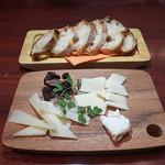 フレンチーナ - チーズ3種盛り合わせ